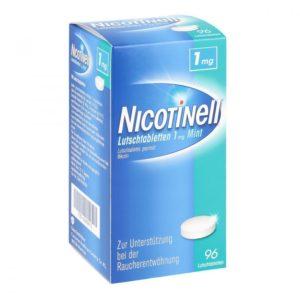 NICOTINELL Nikotin Lutschtabletten Test 1