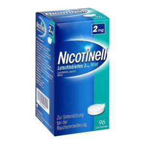 NICOTINELL Nikotin Lutschtabletten Test 2