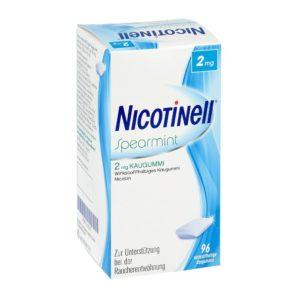 Nicotinell Spearmint nikotinkaugummi test