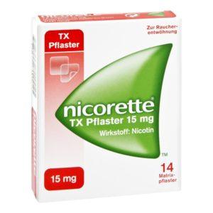 Nicorette TX 15 mg Nikotinpflaster Test