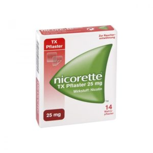 Nicorette TX 25 mg Pflaster Testsieger