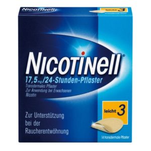 Nicotinell 17,5 mg Nikotinpflaster Test
